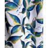 BOHEMIAN LONG HAND-PAINTED DRESS - Emerald Butterfly