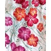 HAND PAINTED BLOUSE - Hibiscus Flowers