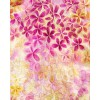 HAND PAINTED BLOUSE - Plumeria Flowers